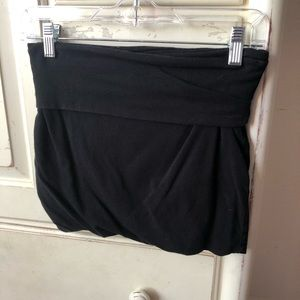 Skirts - Plain black mini skirt